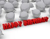 Happy birthday — Stock Photo