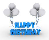 Happy birthday — Foto Stock