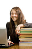 The young successful student — Stock Photo