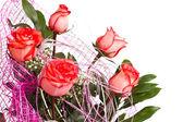 Bouquet of tea rose — Stock Photo