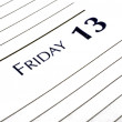 Friday the 13th - Stock Photo