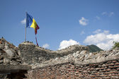 Poenari Fortress, Vlad Tepes fort in Romania — Stock Photo