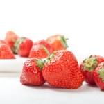 Fresh strawberries — Stock Photo #4142326