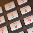 Stock Photo: Telephone buttons