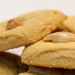 Delicous cookies with nuts — Stock fotografie