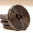 Stock Photo: Spiral liquorice