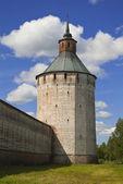 Kirillo-Belozersky monastery, tower. — Stock Photo