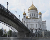 Temple of the Christ of the Savior — Stock Photo