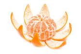 Unfolded mandarine — Stock Photo