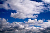 Appearing suddenly clouds — Stock Photo
