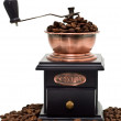 Постер, плакат: Coffee grinder and coffee