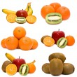 Royalty-Free Stock Photo: Set of fruit