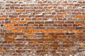 Dirty brick building — Stock Photo