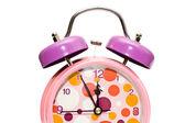 Half alarm clock — Стоковое фото