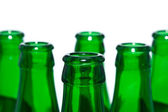 Botellas verdes — Foto de Stock