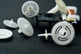 Cog-ruote da un orologio — Foto Stock
