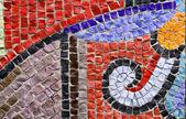 Fantasía está en un mosaico — Foto de Stock