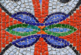 Flower is in a mosaic — Foto de Stock