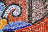 Mosaic from a stone — Foto Stock