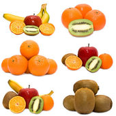 Set of fruit — Stock Photo