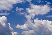 Summer cloudiness — Stock Photo