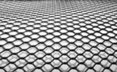 Black plastic net — Stock Photo