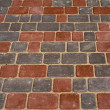 Sidewalk tile - Stock Photo