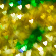 Стоковое фото: Brilliant hearts as background