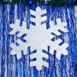 White snowflake — Stock Photo