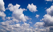 Summer cloudy sky — Stock Photo