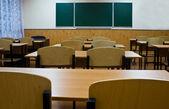 Empty school room — Stock Photo