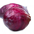 Of red cabbage closeup — Stock Photo