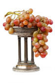 Vase with Grapes — Stock Photo