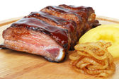 Pork ribs barbecue — Stock Photo