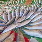 Fresh fish at a market — Stock Photo #4322925