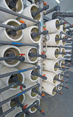 Desalination filters — Stockfoto