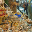 Stall in a busy market in Turkey — Foto Stock