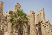 Ruins at Karnak Temple in Luxor — Stock Photo