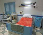 Sala de cuidados intensivos en un centro médico — Foto de Stock