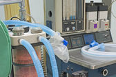Closeup of hospital ventilator machine — Stock Photo