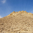 Rocky hill in a desert — Stock Photo