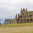 Stock Photo: Ancient abbey on coast