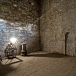 Still life in old room with shaft of light — Stock Photo