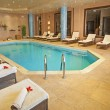 图库照片: Pool in health spa