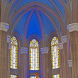 Domed ceiling inside church — Stock Photo #5250402