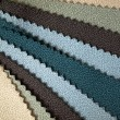Cool tone fabric sample — Stock Photo