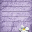 Photo: Purple grunge letter paper