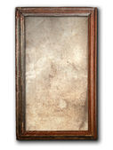 Eski ahşap çerçeve — Stok fotoğraf