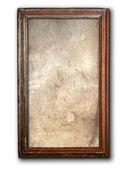 Starý dřevěný rám — Stock fotografie