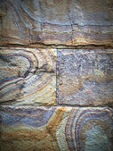 Colorful stone wall — Stock Photo